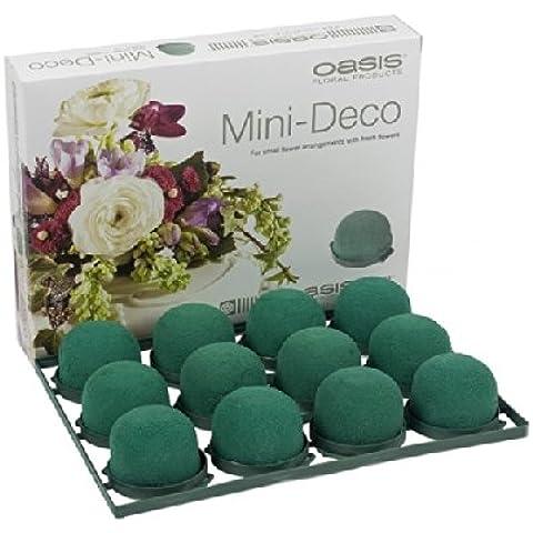 Oasis Mini Deco Premium Caja de 12 Boda Arreglos florales