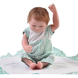 KEIUMI 2018 Mini Reborn Baby Doll 11 Pulgadas Gemelas Realistic Sleeping Boy Realista Muñecas Recién Nacidas Niños Regalo de Cumpleaños