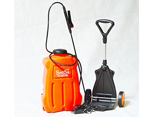 Drucksprüher 12 V elektrisch Gartenspritze Unkrautspritze