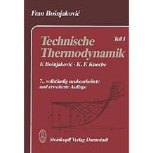 Technische Thermodynamik: Teil I