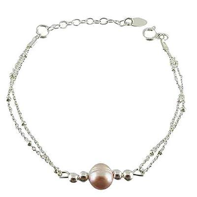Bracelet argent Perle deau douce