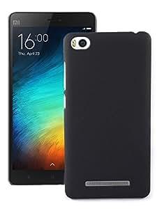 Xiaomi Mi 4i Back Cover / Case - Cool Mango Premium Rubberized Back Cover for Xiaomi Mi 4i - Black