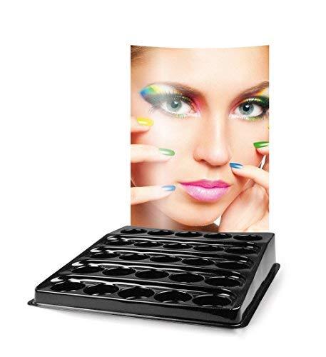 Affichage du compteur Revêtements Universal Présentoir 25 x Rond 34 mm - Modèle 01