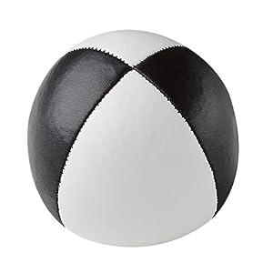 Henrys J05010-B09 - Bolsas de Frijol de Primera Calidad, diámetro 67 mm, Blanco / Negro