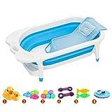 YNPGHG Baño De Bebé Plegable, Versátil, Puede Acomodar A Un Niño. Productos De Baño Portátiles Livianos Y Resistentes. A Partir De 6 Tipos De Regalos,A