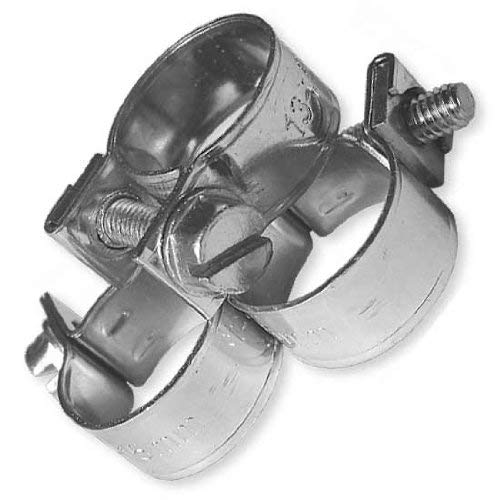 Blf25 Om1214 Jubilee Colliers de serrage Mini Rundziehend 40-42 mm/9 mm Lot de 10 Argent 5 x 5 x 1 cm