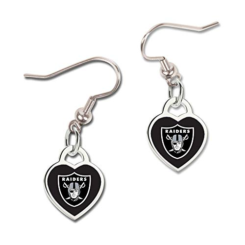 rz Ohrringe - NFL Oakland Raiders ()