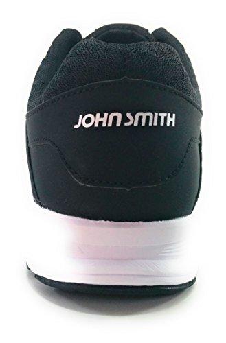 John Smith, Chaussures De Course À Pied Pour Homme Bleu Bleu Noir