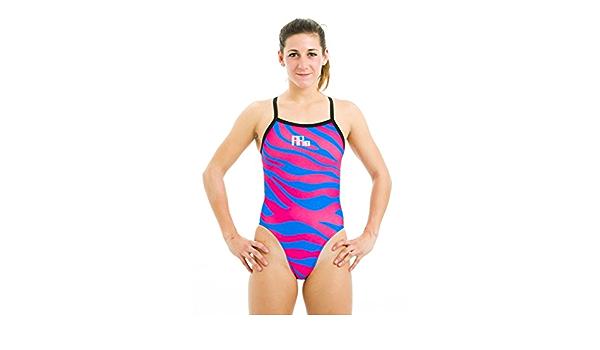 Details about  /Women swimsuit MAKO Zebra Pink Aumakua