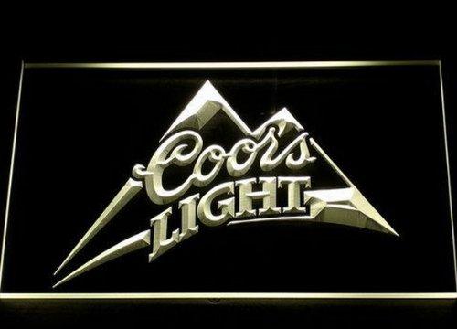 coors-light-bier-led-zeichen-werbung-neonschild-weiss