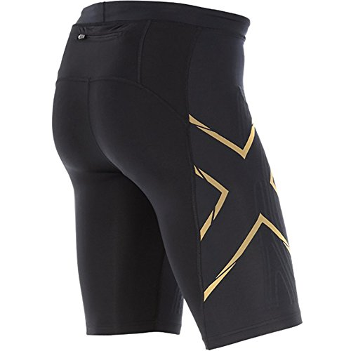 2x u Herren MCS Kompression Run Shorts Black