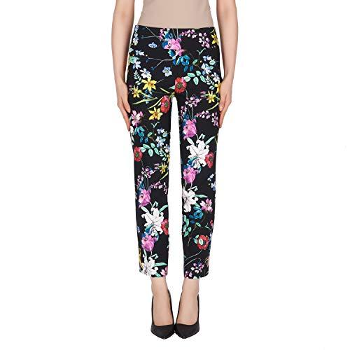 Joseph Ribkoff White & Mutlicolor Pants Style - 191666 Spring Summer 2019