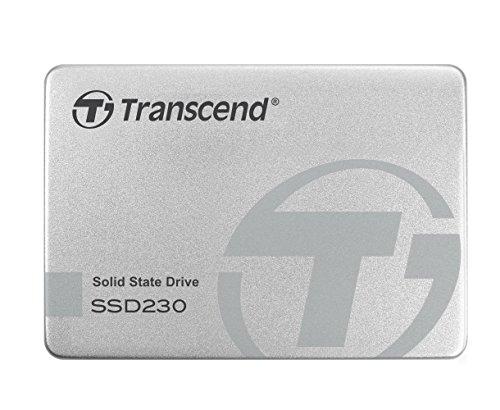 """Transcend TS512GSSD230S SSD Interno, SATA III 3D, 6 Gb/s, 2.5"""", 512 GB, Alluminio"""