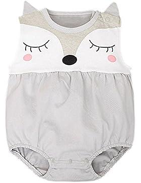 Baby - Weste-Bodysuit Süß Fuchs IHRKleid® Mädchen Onesise