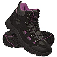 Mountain Warehouse Adventurer Womens Waterproof Boots - Durable Hiking Shoes, Breathable, Synthetic Upper, Mesh Lining, Cushioned Footbed - Ideal for Walking & Trekking