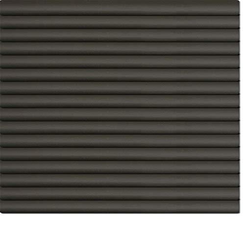 Dekologi Aluminium Jalousie 40 x 220 cm (Breite x Höhe) - Lamellenfarbe 1901 schwarz matt//Maßanfertigung Alu Jalousien Jalousette Rollo Plissee