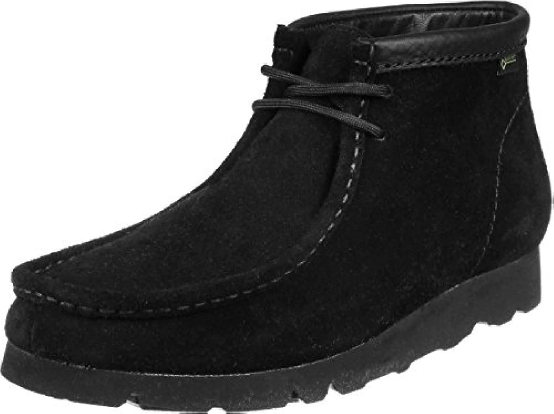 Clarks WallabeeBT GTX Schuhe black suede