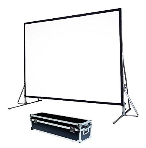 'Écran de projection pliable ultra-léger, toile face/Retro 508x 381cm 250«4: 3, drap de vidéoprojecteur» quick-folder Excellent pour chaque projecteur 100% Professionnel de qualité supérieure HD.
