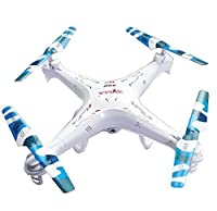 Syma New Version Syma X5C-1 2.4G 6 Axis GYRO HD Camera RC Quadcopter RTF RC Helicopter with 2.0MP Camera + Mini Kitty Extra Battery+4 in 1 charger + 4 Camouflage Blades (X5C-1 + 3.7V 600mAh 3pcs MiniKitty Battery+charger+Camouflage Blades)