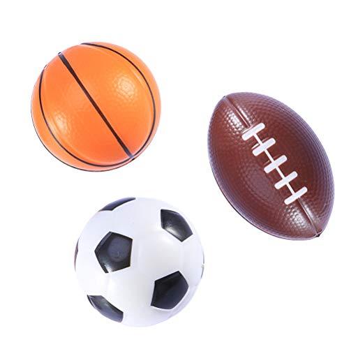 BESTOYARD 3 Piezas Mini balones Deportivos Favores