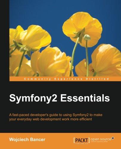 Symfony2 Essentials por Wojciech Bancer