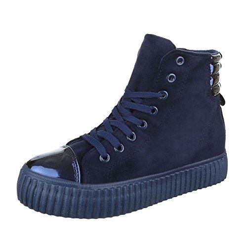 Ital-Design, Sneaker donna Dunkelblau