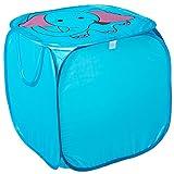 Spielzeugbox Aufbewahrungsbox POP-UP Staubox Kinder Truhe Spielzeugtruhe Spielzeugkiste in 3 verschiedenen Modellen (ELEFANT)