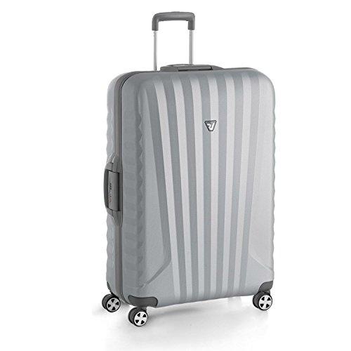 Trolley Grande Roncato | rigido 4 ruote 78 cm | Linea Uno SL 2014 | 5141-grigio/silver