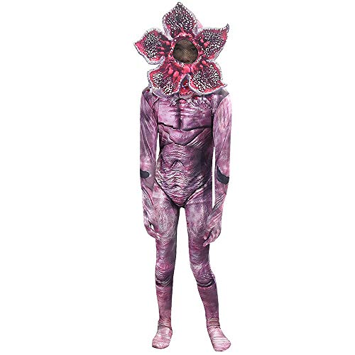 XIAOGUIGUI (124 cm Zombie-Horror-Kostüm, Spoof Eater Blumenmaske, Halloween-Requisiten, Kleidung, Totenkopf-Trooper (Horror Spoof Kostüm)