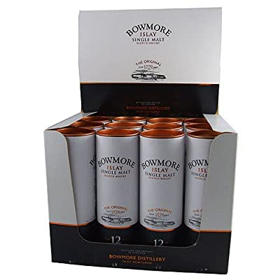 Bowmore 12 year old Single Malt Scotch Whisky 5cl Miniature - 12 Pack from Bowmore