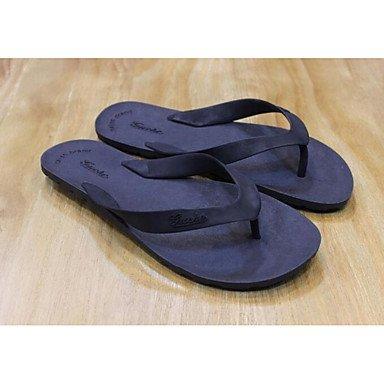 Winterstiefel FrauenPU -beiläufige Chunky Heel Sandaletten Sandalen Dark Grey
