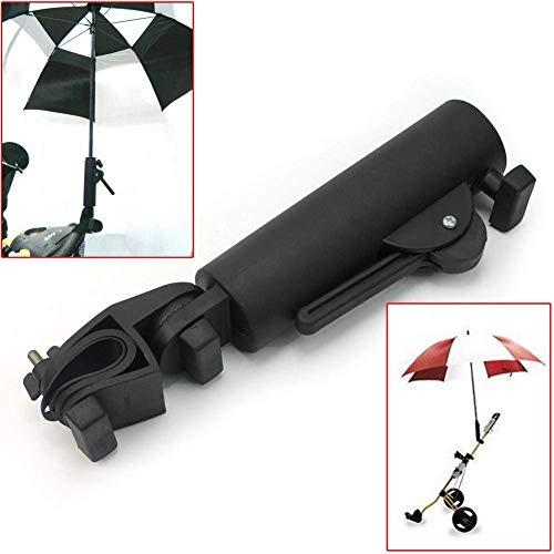 Muttify Golf Cart Parapluie Support, Angle intérieur et l'Largeur Réglable Parapluie quantité...