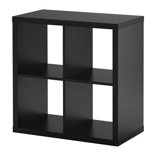 Estantería de IKEA kallax–Librería, perfecto para cestas o boxes-77X 77cm (marrón)