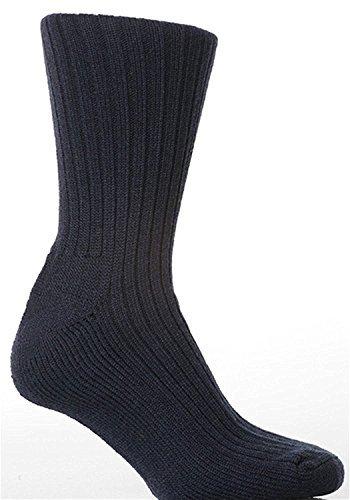 1 Paar Herren Militär Action Sehr Stabil Thermische Stiefel Socken / UK 6-11 Eur 39-45 - Marine, Herren, UK 6-11 Eur 39-45 (Thermische Boot-socke Gepolsterte)