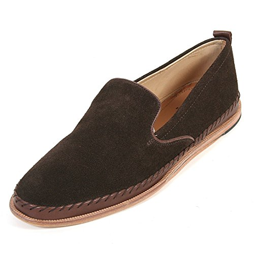 H By Hudson Macuco Slip On Shoes BROWN 11