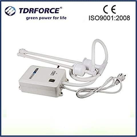 TDRFORCE Double Tube Bottle Water Dispenser Pump System for Coffee