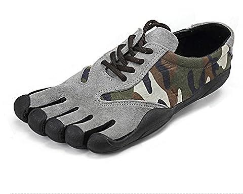 Fyx Cinq Doigts Chaussures Homme Cortical Sport Loisieur Five Fingers 40-45 (43, gris)