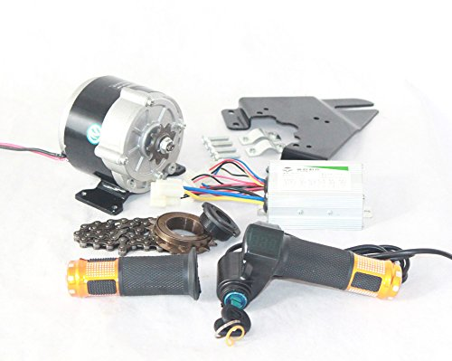 1162c91d9a5 350W ELECTRIC BICYCLE ENGINE KIT INCLUDE ACCELERATOR HANDLE WITH KEY ...