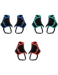 IPOTCH 3 Pares Polainas Impermeable Senderismo Escalada Cazar Compatible con todos los zapatos de trail de