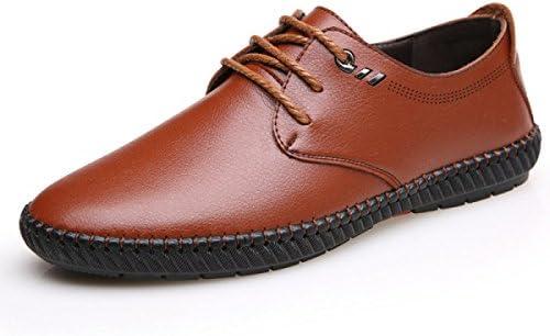 GRRONG Zapatos Casuales Ocasionales De Los Hombres Calza Los Zapatos Cómodos Suaves Transpirables De Los Zapatos
