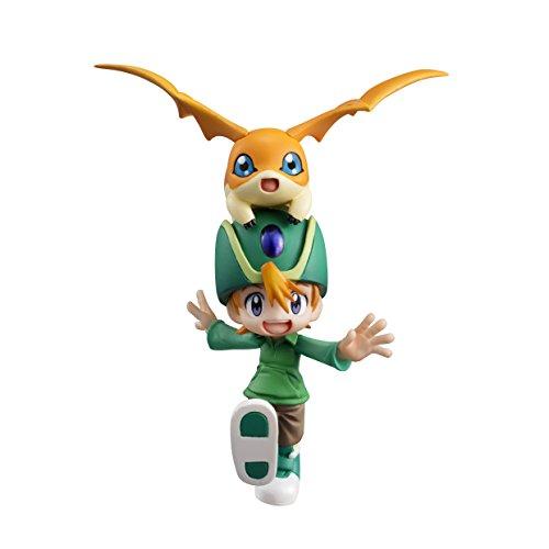 Megahouse Digimon Adventure: Takaishi Patamon and Takeru GEM PVC Figure