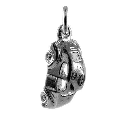 Auto Charme Pandora (TheCharmWorks Sterlingsilber VW Käfer Charmanhänger | Sterling Silver VW Beetle Car Charm)