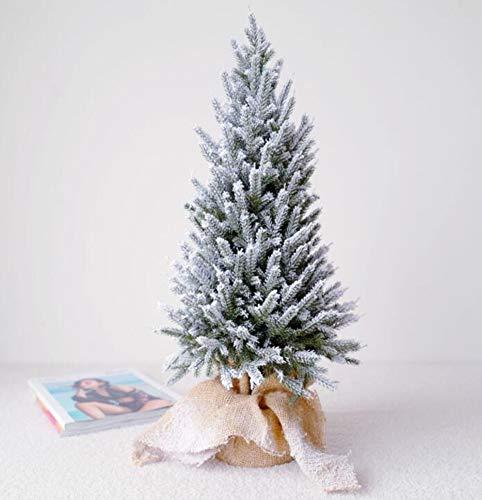 Künstlicher Weihnachtsbaumsimulation PET-Zedernbonsaischneebaum Mit Weihnachtsbaumrahmen