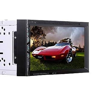 WWCAR 6.95 Zoll Auto DVD Spieler Auto Player Bluetooth-Freisprech-Priority Card Plug Maschine umkehren