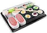 Photo de Rainbow Socks - Femmes Hommes - Sushi Chaussettes Butterfish Saumon 3x Maki - 5 Paires par Sushi Socks Box