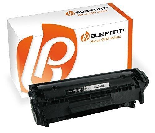 Bubprint Toner kompatibel für HP Q2612A 12A für LaserJet 1010 1012 1015 1018 1020 1022 1022N 3015 3020 3030 3050 3052 3055 M1005MFP M1319F MFP Schwarz