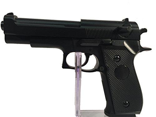 Preisvergleich Produktbild HFC HA106 Softair Federdruck Pistole Black BERETTA M9 Stil,  ABS,  0.5 Joules,  0.12g,  no hop up GRATIS 2000 BULLDOG BBS 0.20G