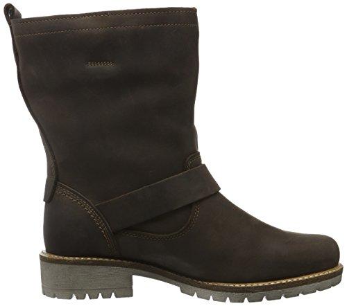 Ecco Damen Elaine Biker Boots Braun (Coffee2072)