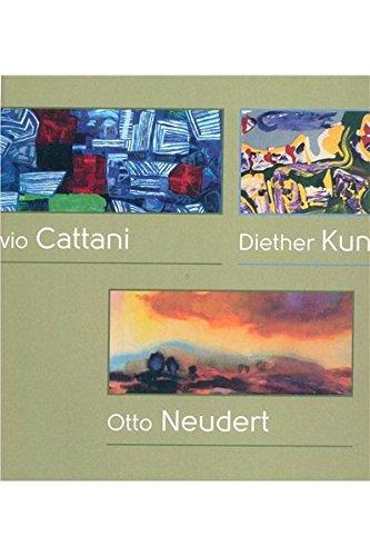 Zeitgenössische Kunst Landschaft (Ausstellungskatalog Visionen - Landschaften / Visioni - Paesaggi: Silvio Cattani, Diether Kunerth, Otto Neudert)
