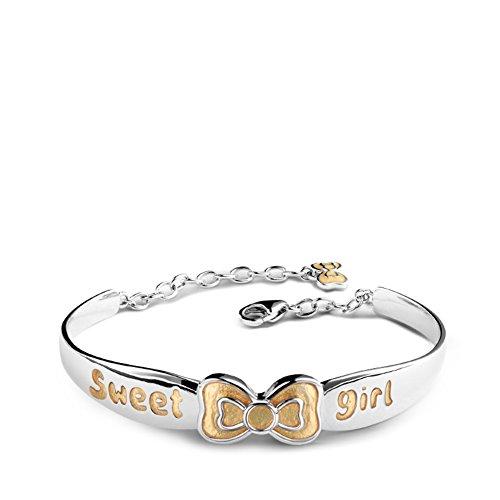 925Bracelets de silver Bow bébé enfant/ cadeaux d'anniversaire/ anniversaire E